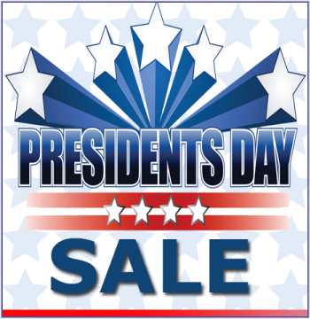Presidents Day Sale Event