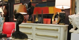 Antiques, Collectibles, Or Vintage Items On Display By Dealer 27 At Warson Woods Antiques Gallery In St. Louis.