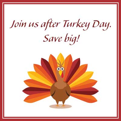 logo for After Turkey Day Sale event